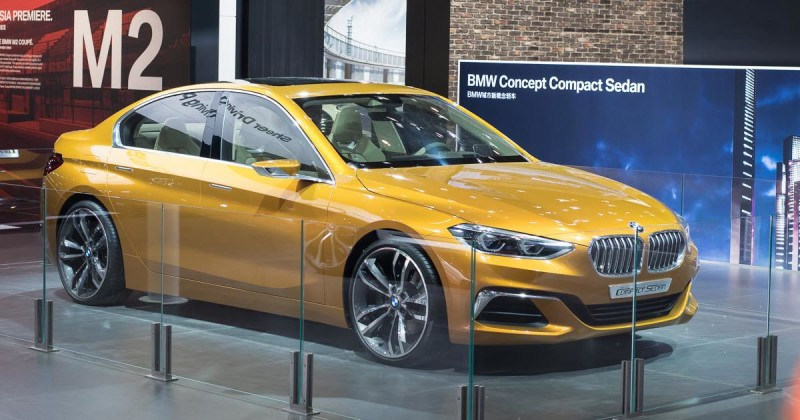 BMW Concept Compact Sedan shows BMW future in China