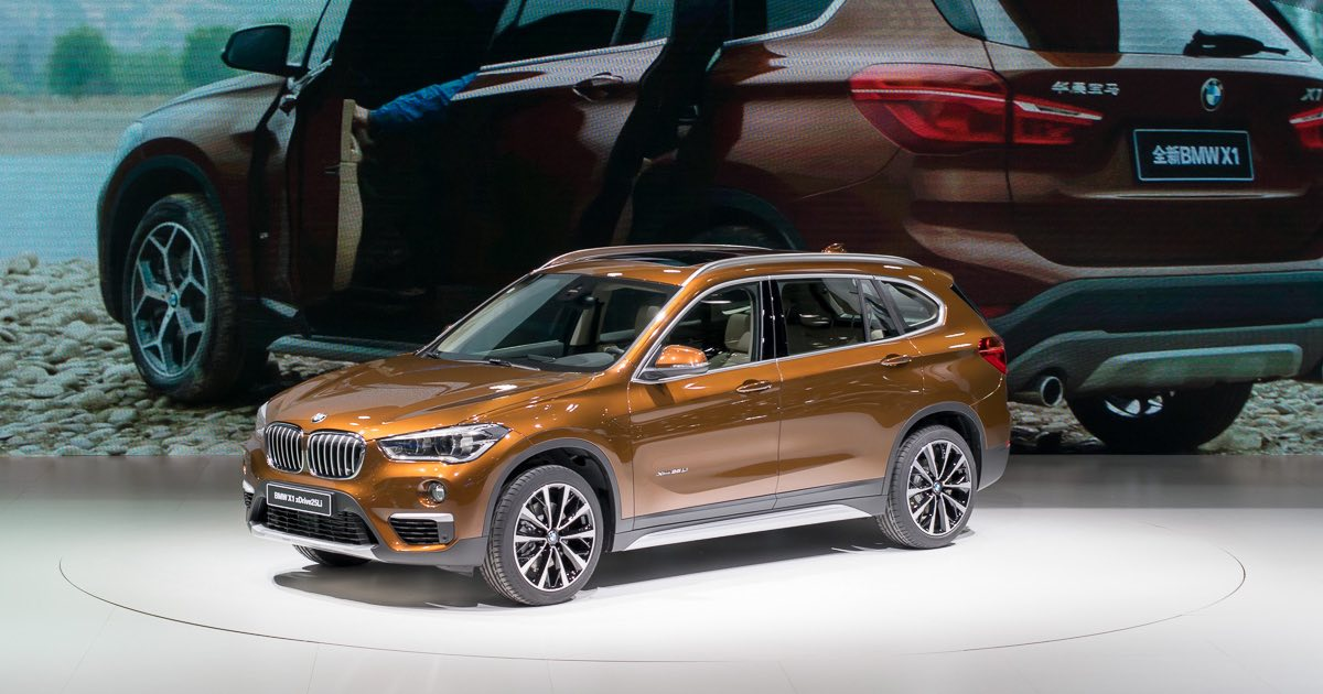 BMW X1 long-wheelbase - debut at Auto China in Beijing