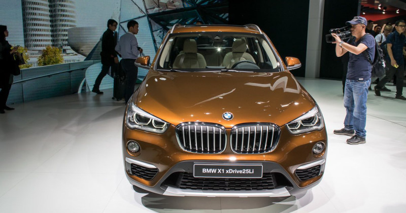 World Premiere: The BMW X1 long-wheelbase for China debuts at Auto China in Beijing