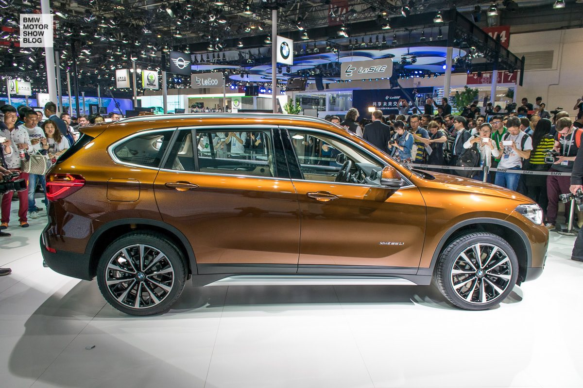 world premiere the bmw x1 long wheelbase for china debuts at auto china in beijing motor show. Black Bedroom Furniture Sets. Home Design Ideas