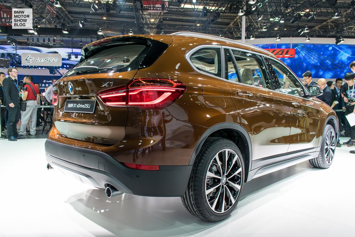 bmw x1 mit langem radstand premiere auf der auto china beijing peking 2016 motor show blog. Black Bedroom Furniture Sets. Home Design Ideas