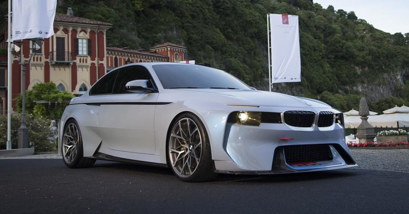 BMW 2002 Hommage – Live-Photos from Concorso d'Eleganza