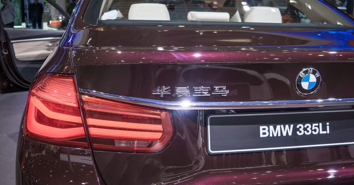 BMW 335Li in Beijing