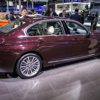 BMW 335Li (F30 Langversion) in China - Peking 2016