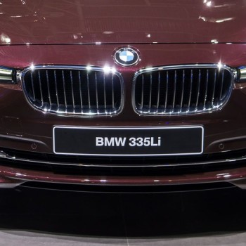 BMW 335Li (F30 Langversion) in China - Peking 2016