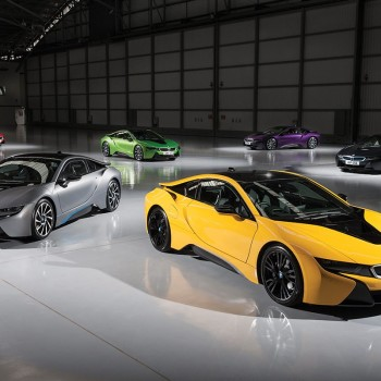 BMW i8 Individual Colors Programme in UK