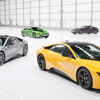 BMW i8 Individual Farbe - Programm in UK