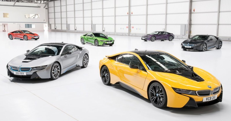 Fresh colors for the BMW i8 – but only UK
