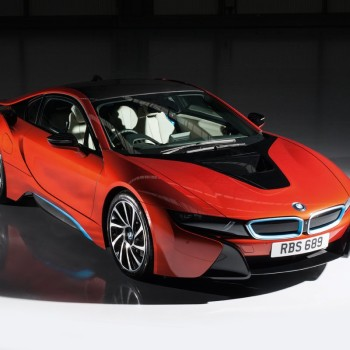 BMW i8 Individual Colors  - Solar Orange