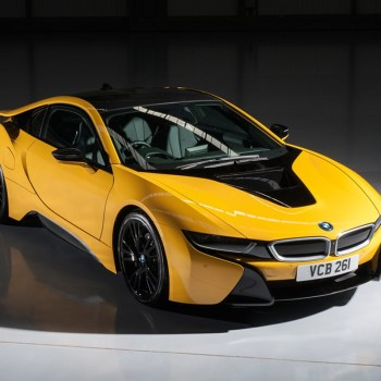 BMW i8 Individual Colors  - Speed Yellow