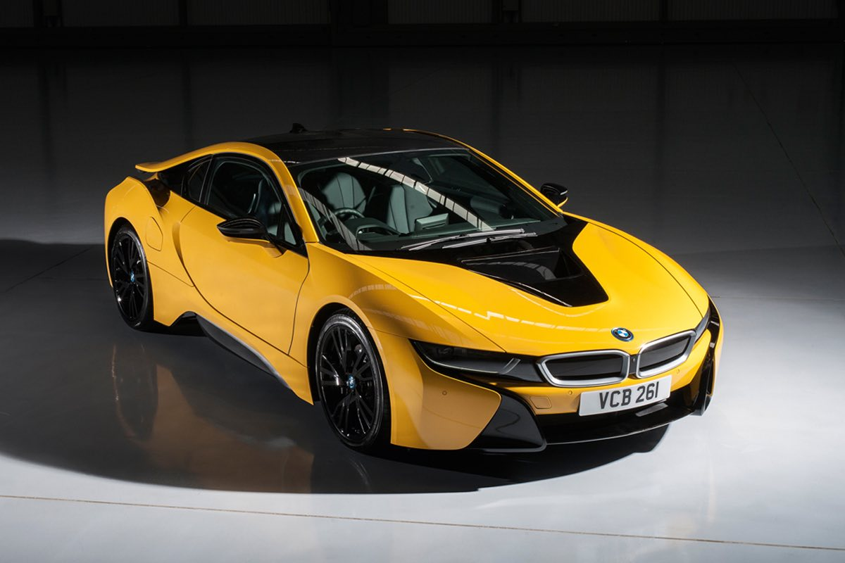 Fresh Colors For The Bmw I8 But Only Uk