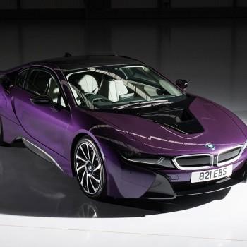 BMW i8 Individual Colors  - Twilight Purple Pearl (Violett)