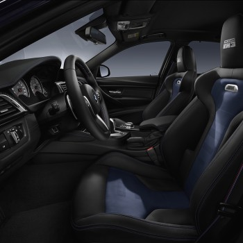 "BMW ""30 years M3"" Edition - interior"