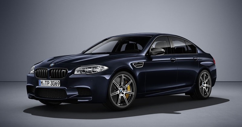 BMW M5 says Farewell with limited Competition Edition