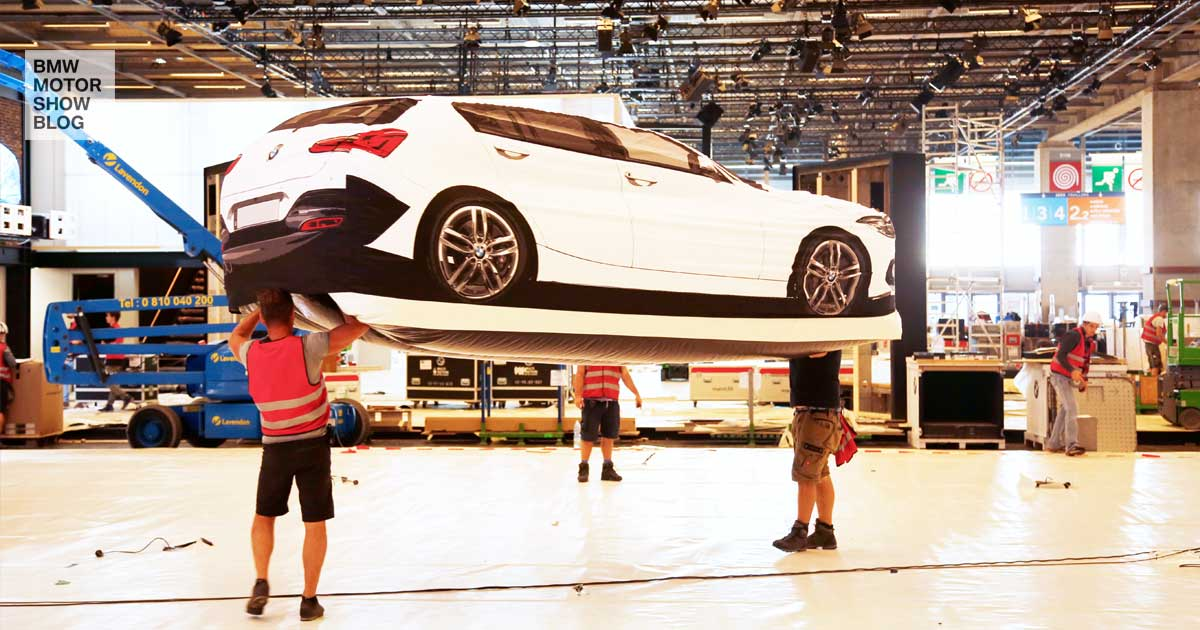 BMW Paris Motor Show - Preview