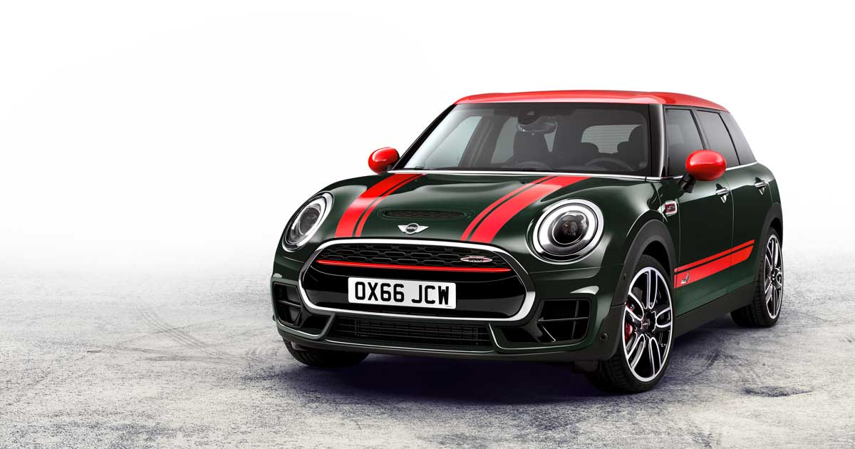 MINI John Cooper Works Clubman - Paris Motor Show 2016