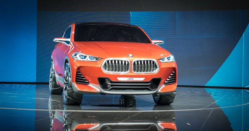 Made for urban adventure: The BMW Concept X2 – world premiere at 2016 Paris Motor Show