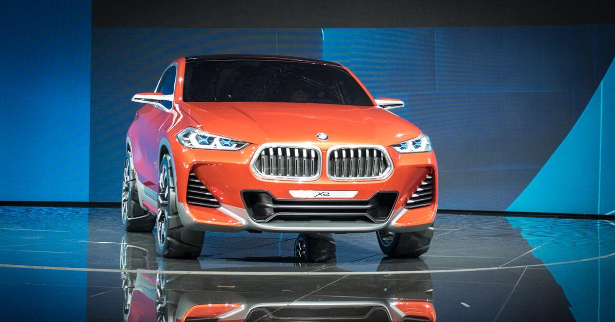 Paris Motor Show - BMW Concept X2