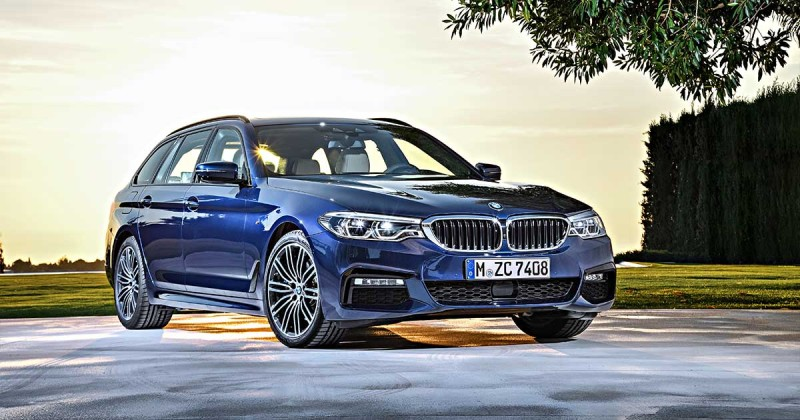 The all-new BMW 5 Series Touring: Technical highlights (infographic)