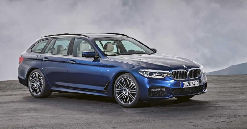 Der neue BMW 5er Touring. Bereit für die Entdeckung.