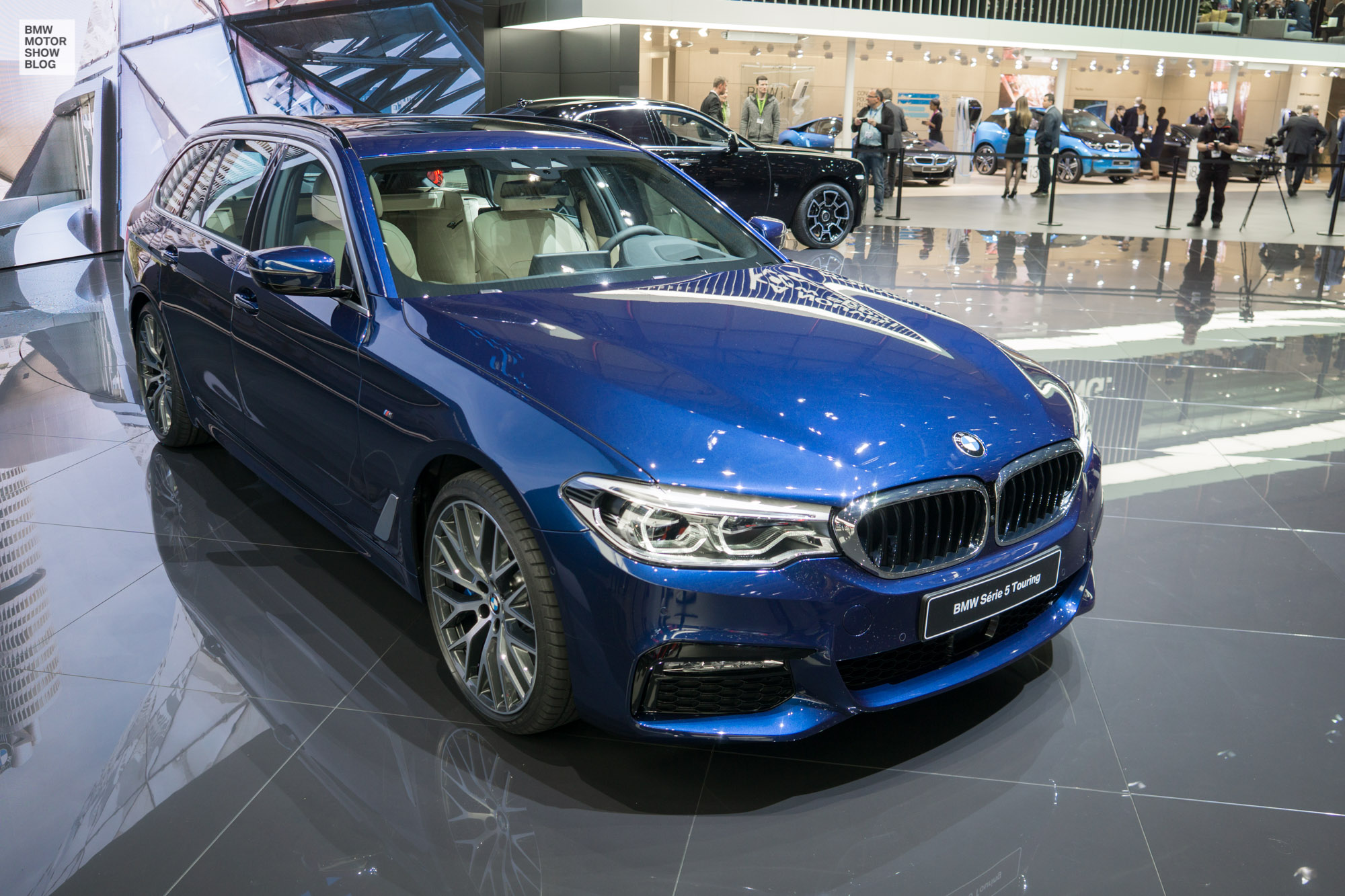 Live From Geneva First Pictures Of The Bmw 5 Series Touring 2017 5series 1
