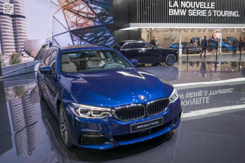 Der neue BMW 5er Touring -