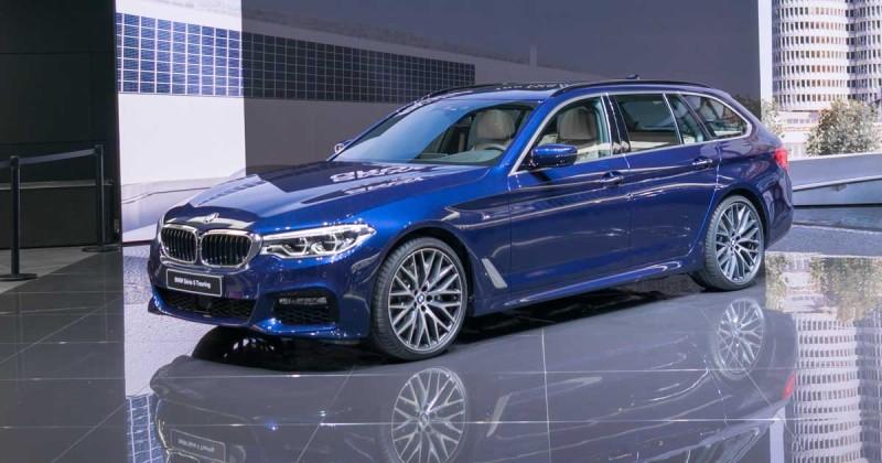 Erste Live-Bilder: der neue BMW 5er Touring