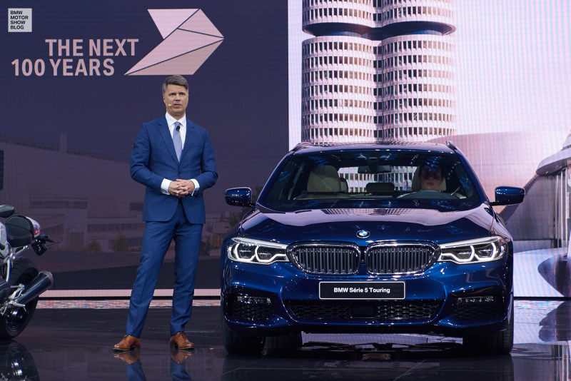 BMW Pressekonferenz - Genfer Auto-Salon 2017