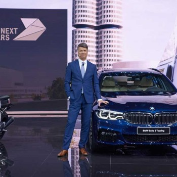 BMW press conference at the Geneva Motor Show 2017