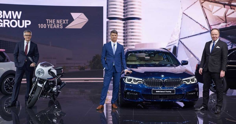 Looking back: the BMW Press Conference at the Geneva Motor Show 2017