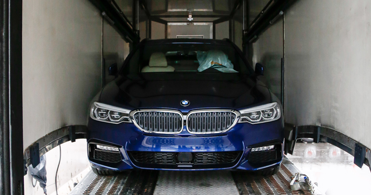 Der neue BMW 5er Touring - Ankunft in Genf