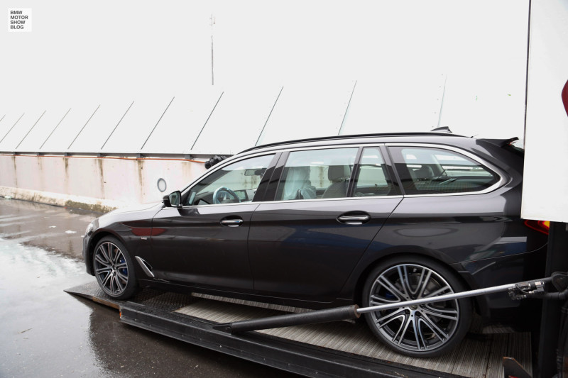 The all-new BMW Series Touring - Arrival at Geneva