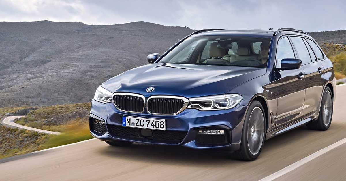 BMW 5 Series Touring (2017)