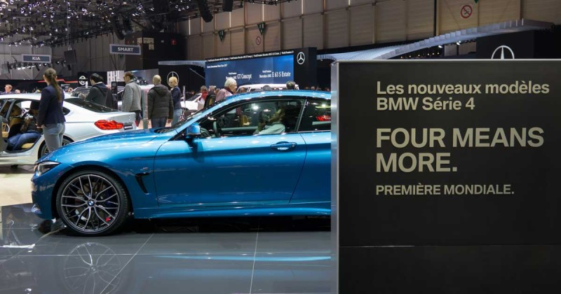 BMW auf dem Auto-Salon Genf: Highlight-Video