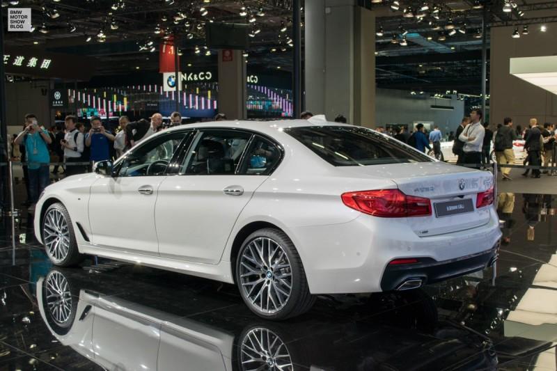 BMW 5 Series Sedan Long Wheelbase for China