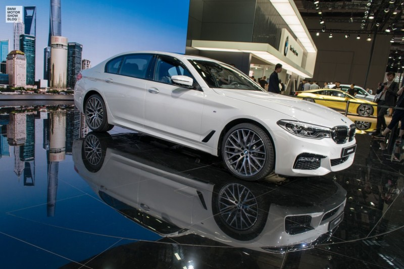 BMW 5 Series for China