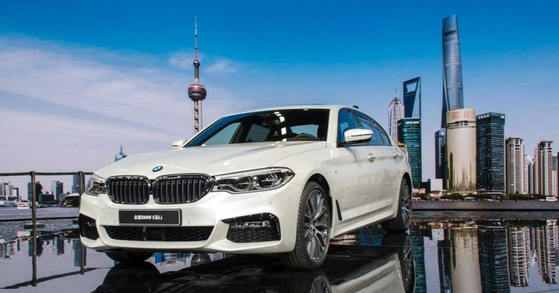 Exclusive to Chinese market: The BMW 5 Series Long Wheelbase