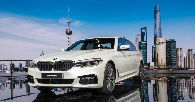Exklusiv für China: die BMW 5er Limousine als Langversion