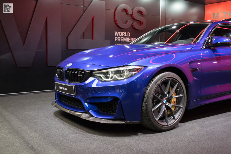 The all-new BMW M4 CS - world-premiere in Shanghai - Live