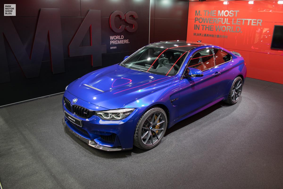 Der neue BMW M4 CS - Weltpremiere in Shanghai - Live