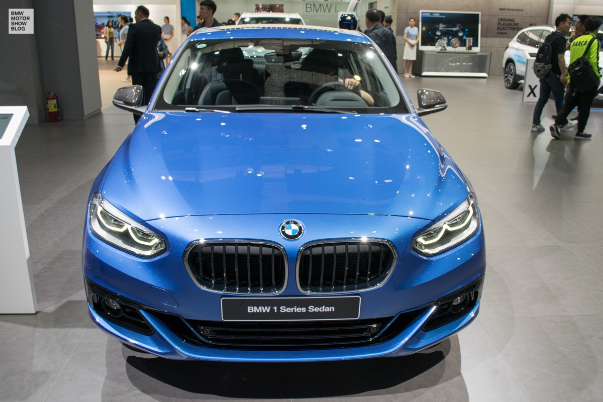 bmw 1 series sedan why it is so important for bmw in china. Black Bedroom Furniture Sets. Home Design Ideas