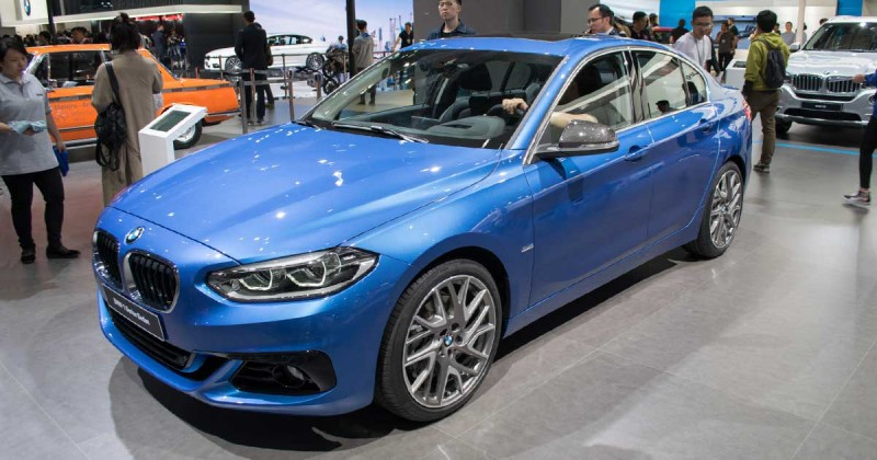 BMW 1 Series Sedan: one of BMW's most important cars in China for 2017