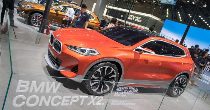 Blick in die nahe Zukunft: der BMW Concept X2