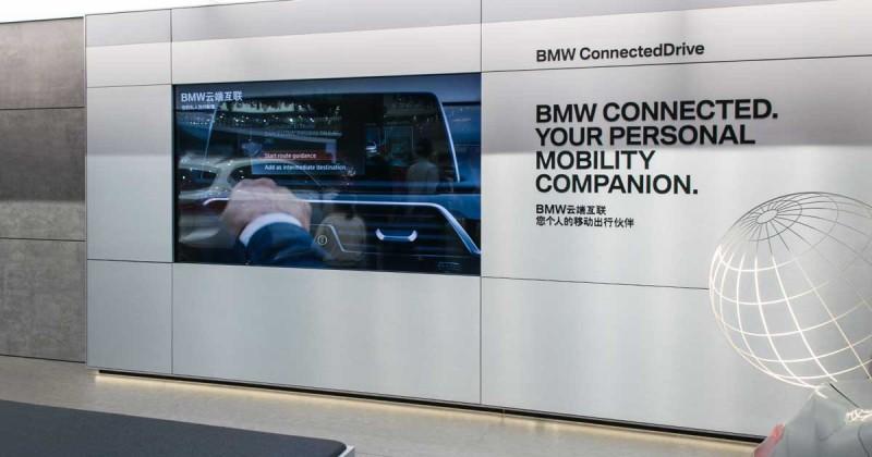 Für das digitale China: BMW Connected mit lokalisierter Version