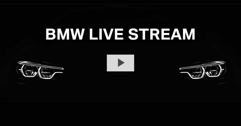 Live stream: the BMW press conference at the 2017 Auto Shanghai