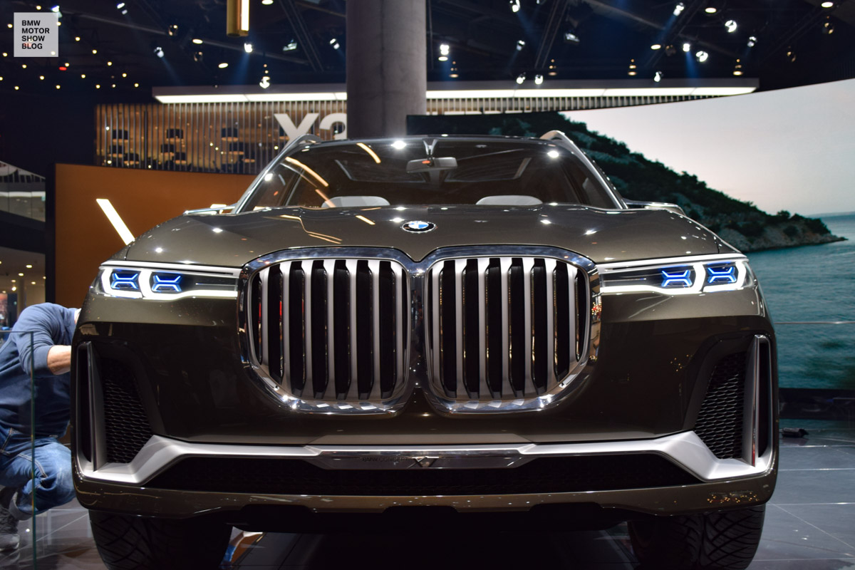 Bmw Concept X7 Luxury Sav Live At Iaa 2017