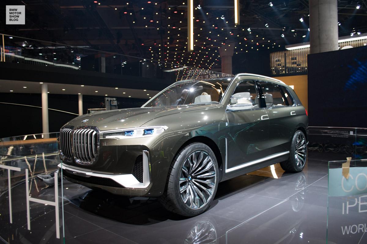 BMW Concept X7 – Luxury-SAV live at IAA 2017