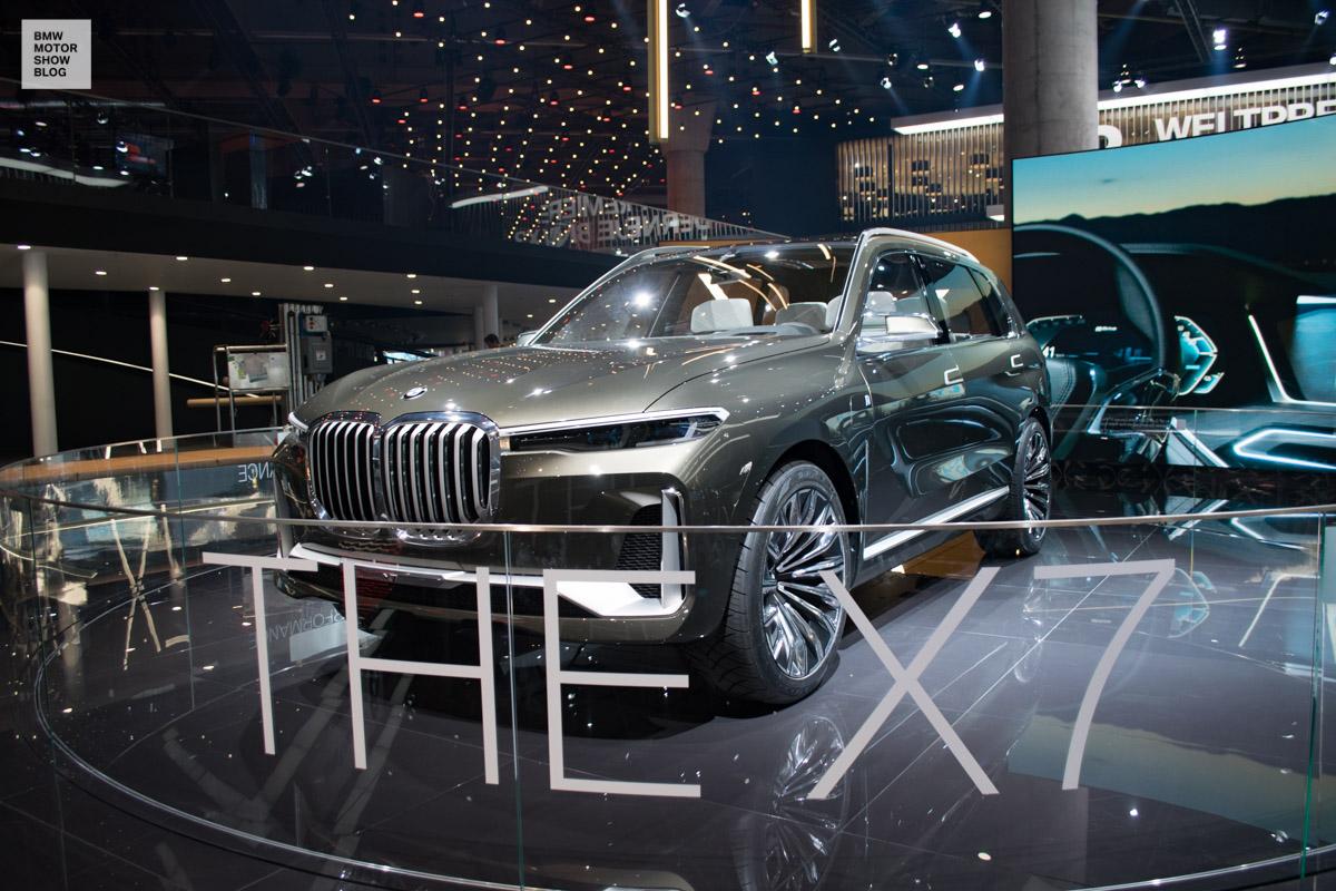 Bmw Concept X7 Live Iaa 2017 7 Motor Show Blog
