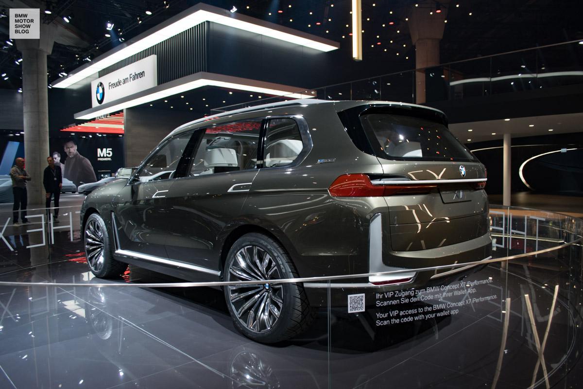 Bmw Concept X7 Live Iaa 2017 8 Motor Show Blog