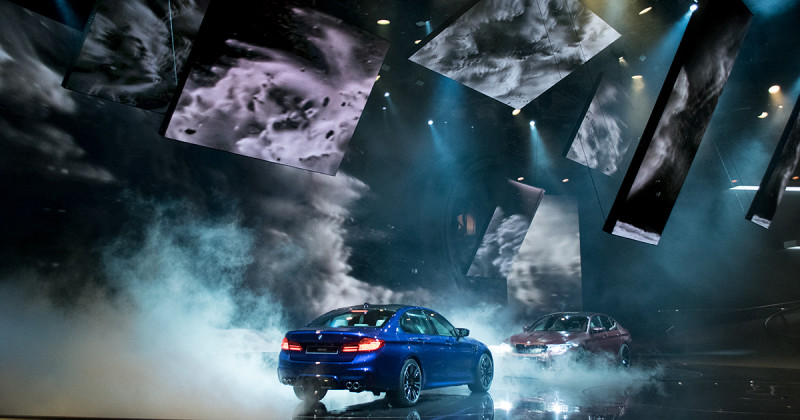 BMW Highlight-Show Video: Setting a spectacular staging at the IAA 2017